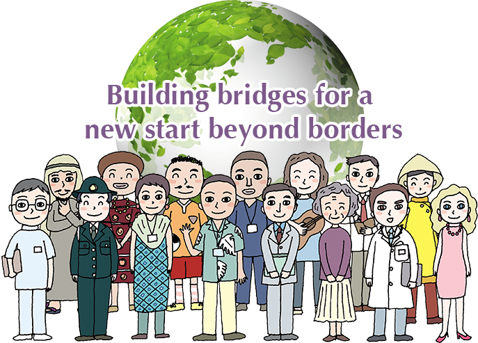 Building bridges for a new start beyond borders